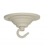 ACC2 Single Hook Plate - Cotswold Cream