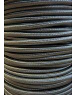 Grey Round Braided 3 Core Flex In 1 Metre Lengths