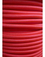 Poppy Red Round Braided 3 Core Flex In 1 Metre Lengths