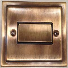 TAB369 Trimline Fan Isolator Switch - Antique Bronze