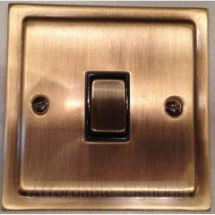 TAB305 Trimline Intermediate Switch - Antique Bronze