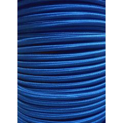 Royal Blue Round Braided 3 Core Flex In 1 Metre Lengths