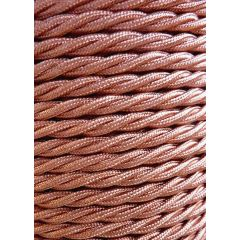 Copper Twisted Braided 3 Core Flex In 1 Metre Lengths