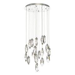 Crystal LED 18 Light Multi Drop Pendant CRY1850