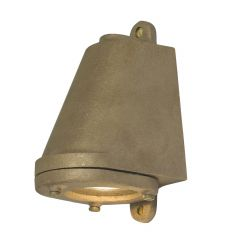Outdoor LED Mast Wall Light in Sandblasted Bronze 0749/GM/SD