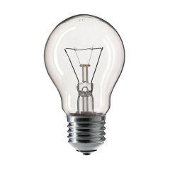 GLS Bulb Clear Edison Screw E27 60w - Pack Of 10
