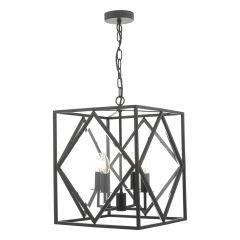 Jepsen Black Indoor Lantern Pendant JEP0422