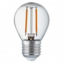 L3027-4WW LED Dimmable 4w E27 Filament Golfball Bulb