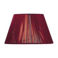 "MS044 Red Wine Silk String Shade 16"""